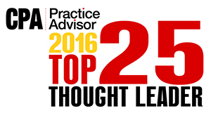 CPA practice advisor thought leader 2016
